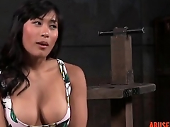 Shackled Asian Slut'_s Pussy added to Mouth Used: Free HD Porn d5 - abuserporn.com