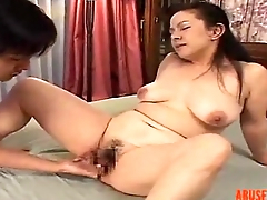 Mature Asian Lady Fingered and Licked, Porn 3b - abuserporn.com