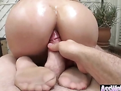 Slut Girl (london keyes) With Big Ass Get Oiled And Anal Banged mov-23