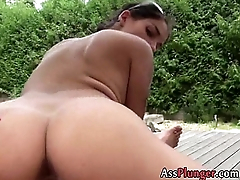 Mischel Lee  - Busty Slut Gives Relative to The Ass 0031