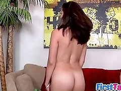 Aries Knightly in her first sex tape