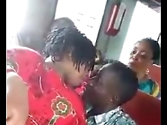 Non-specific fingered and felt up in Ugandan bus