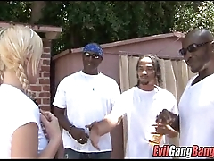 Blacks on White Girl gangbang 022