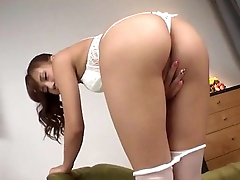 Anna Anjo looks wonderful with cock in her mouth