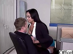 Horny Worker Girl With Big Tits Banged Hard Style In Office (selena santana) vid-02