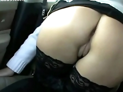Hot Young MILF Flashing Pussy and Boobs on touching Wheels on Realwives69.com