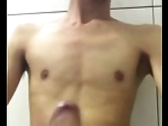asian twink cum fountain