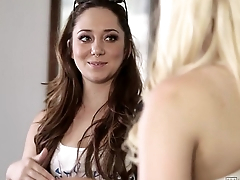 Remy LaCroix and Alli Rae Tribbing at WebYoung
