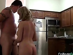 Hot College Girls In Wild Group Sex Tape (sage &amp_ scarlett) vid-13