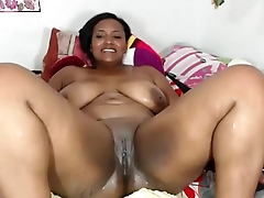 Hot Regressive Ebony Girl Squirting on Cam - More on Hotcamgirls.co