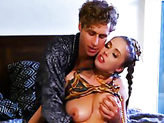 Michael finally gives horny busty babe Lena Paul what she craved for