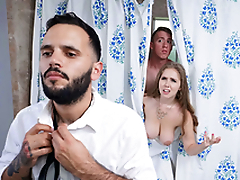 Trimmed Housewife Blows Stepson - Lena Paul In the porn instalment