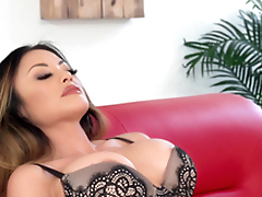 Kaylani Lei is a tattooed chick in need be required of a hunk's dick