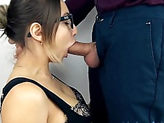 Teen Sloppy Deepthroat with an increment of  Cum Swallow!