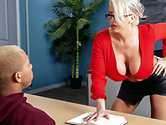 My Prof's Filthy Mouth Starring Alura TNT Jenson added to Ricky Johnson