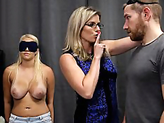 Cory Chase & Vanessa Cage - Hot Little one Tricked into a Threesome with Mom & Dad