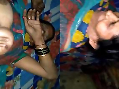 Today Exclusive- Desi Aunty Lovemaking With Young Guy While Hubby Not Home Be struck by watch