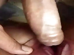 sexy wife forced her hubby to fuck with dildo