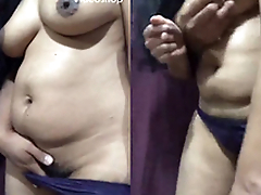 Horny Bhabhi Fucking and Sucking After Pussy Hair Removing