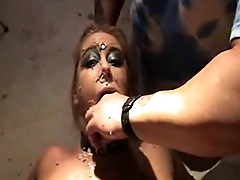 Puking Bitch Antonia