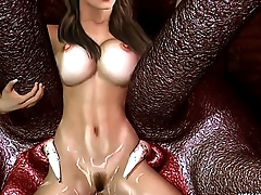 Tentacle Monsters Fuck Celebrities 3D Cartoons