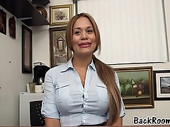 First Timer Fucking Her Future Porn Agent BackRoom