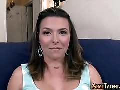 Petite Brunette Fucked In The Asshole 00084