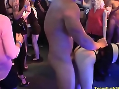 Horseshit Hungry Ladies Turn Slutty At Unquestionable CFNM Party