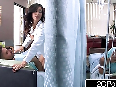 Big Boob Latina Nurse Isis Love Helps Her Patients