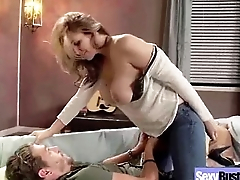 (julia ann) Join in matrimony With Heavy Melon Tits In Sex Act clip-18
