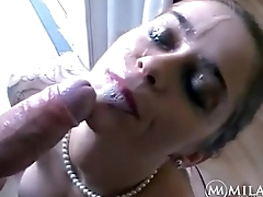 Mila Milan - The Blowjob