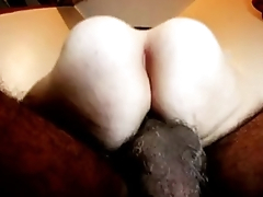 Hairy amateur wife starfish anus needs second load of shit dp swinger